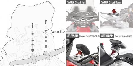 Kit fitinguri 04SKIT specifice pentru Smart Bar S901A si S900A1