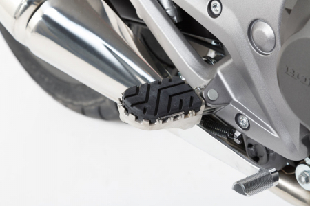 Kit scarite ION pentru Honda NC, Crossrunner, Crosstourer, Suzuki SV650.Argintiu [2]