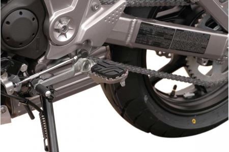 Kit scarite ION pentru Kawasaki Versys 650 / ZRX1200 / Z1000.Argintiu0