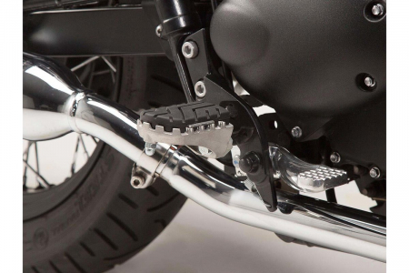 Kit scarite ION pentru Triumph Bonneville/T100 (04-), Scrambler (05-).Argintiu1