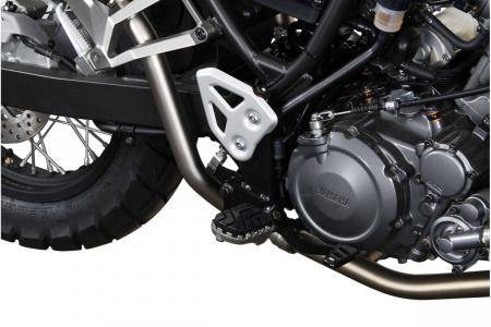 Kit scarite ION pentru Yamaha XT660 Z (07-10) X (04-) R (04-09).Argintiu2