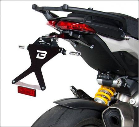 Kit suport numar de inmatriculare DH81040