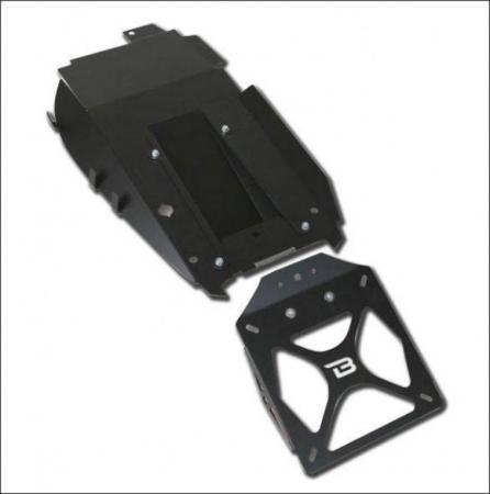 Kit suport numar de inmatriculare HN6104/03-BN1