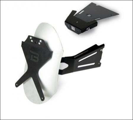 "Kit suport numar de inmatriculare lateral ""CLASSIC""1"