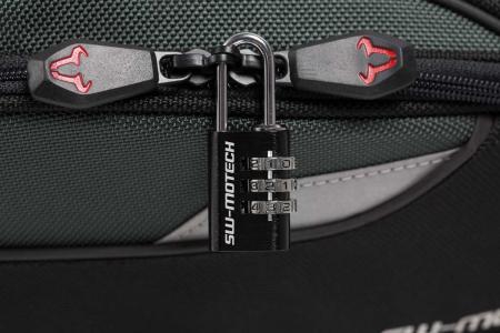 Lacat cu cifru pentru bagaje motocicleta negru [1]