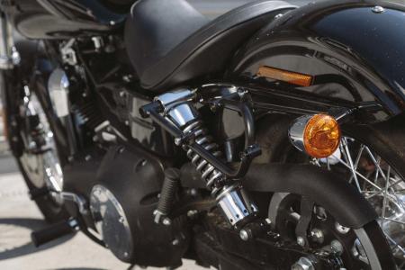 Legend Gear set geanta laterala - Negru Edition Harley Davidson Dyna Low Rider, Street Bob.3