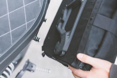 Legend Gear side bag LC1 - Negru Edition 9.8 l. pentru stanga SLC side carrier.1