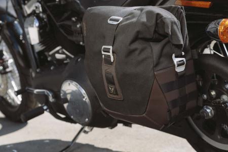 Legend Gear side bag set. Harley Davidson Dyna Fat Bob (09-).0
