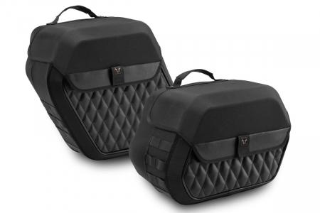 Legend Gear side bag system LH 25.5/19.5 l. Kawasaki Vulcan S (16-). [0]