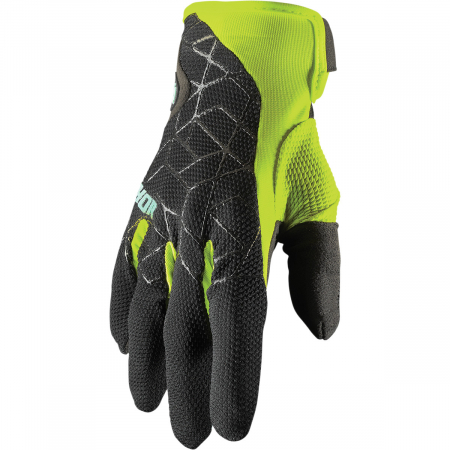Manusi Off-Road  Thor E Draft Negru/Acid S