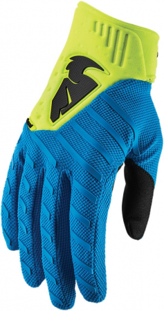 Manusi THOR REBOUND S9 OFFROAD ELECTRIC BLUE/ACID X-SMALL