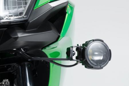 Montare lumini negru Kawasaki Versys-X300 ABS (16-). [2]