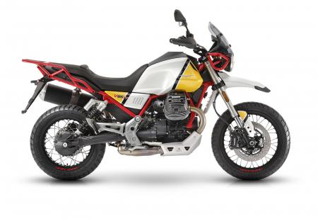 Moto Guzzi V85TT Evocative Speciale