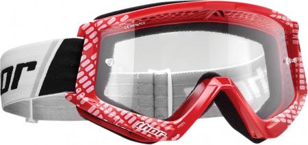 Ochelari THOR COMBAT CAP OFFROAD RED/WHITE