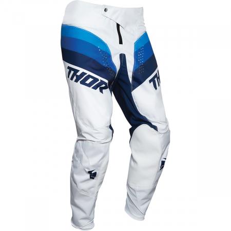 Pantaloni Copii Off-Road Thor Pulse  Rcr Alb/Navy 18
