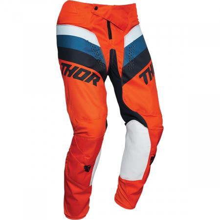 Pantaloni Copii Off-Road Thor Pulse  Rcr Portocaliu 24