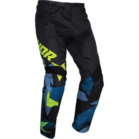 Pantaloni Copii Off-Road Thor Sct Vapr Negru 24