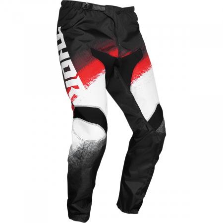 Pantaloni Copii Off-Road Thor Sct Vapr Negru/Rosu/Alb 20