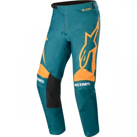Pantaloni Cross-Enduro Alpinestars Racer Supermatic 36 Albastru/Portocaliu