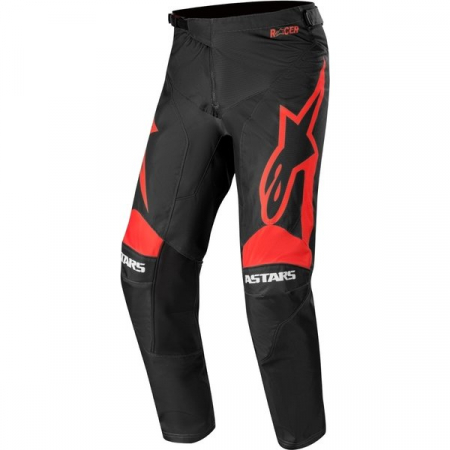 Pantaloni Cross-Enduro Alpinestars Racer Supermatic 32 Negru/Rosu