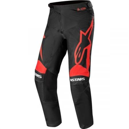 Pantaloni Cross-Enduro Alpinestars Racer Supermatic 38 Negru/Rosu