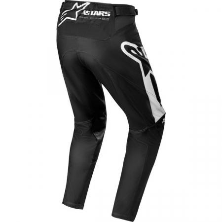Pantaloni Cross-Enduro Alpinestars Racer Supermatic Negru/Alb 30 [1]