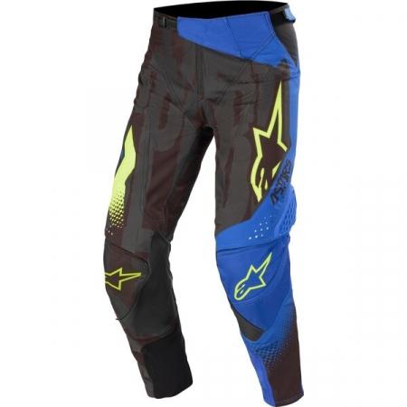 Pantaloni Cross-Enduro Alpinestars Techstar Factory 32 Negru/Albastru