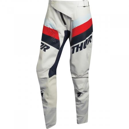 Pantaloni Off-Road Dama Thor Pls Racr Alb 3/4