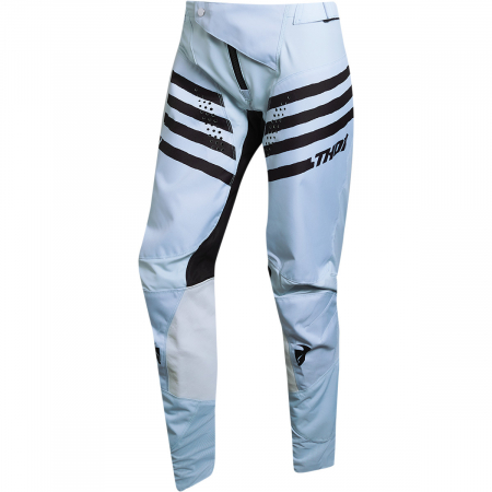 Pantaloni Off-Road Dama Thor Pls Vrsa Gri/Negru 3/4