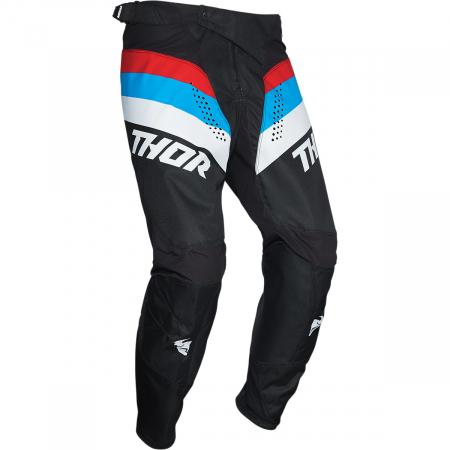 Pantaloni Off-Road  Thor Pls Racr Negru/Rosu/Albastru 42
