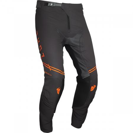 Pantaloni Off-Road  Thor Pnt Prmpro Unrvl Charcoal/Portocaliu 28