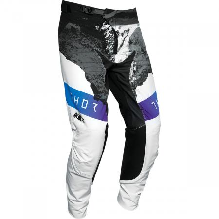 Pantaloni Off-Road  Thor Prm Pro Mesmr Alb 34