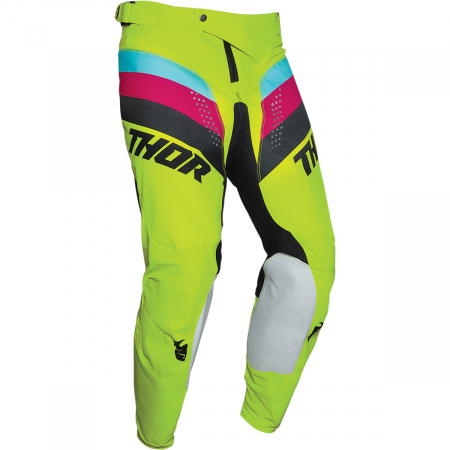 Pantaloni Off-Road  Thor Pulse Racer Acid/Negru 38