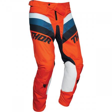 Pantaloni Off-Road  Thor Pulse Racer Portocaliu 36