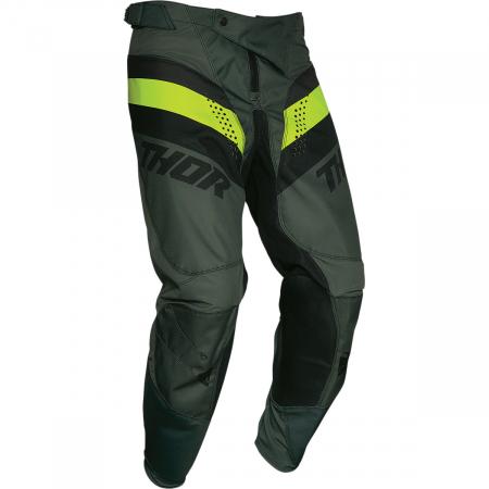 Pantaloni Off-Road  Thor Pulse Racer Army 34