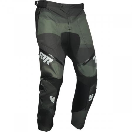 Pantaloni Off-Road  Thor Terrain Pants - In-The-Boot Verde 32