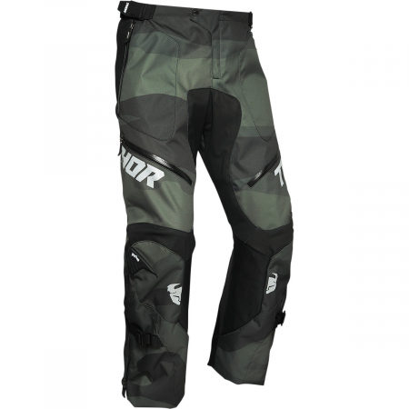 Pantaloni Off-Road  Thor Terrain Pants - Over-The-Boot Verde 28