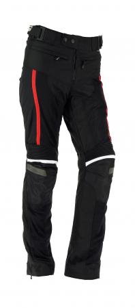 Pantaloni textil Airvent Evo Lady Negru-Rosu