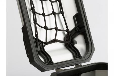 Plasa interior capac side case Trax Adv M Negru [1]