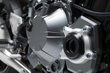 Protectie carter negru/argintiu Kawasaki Z900 (16-). [0]