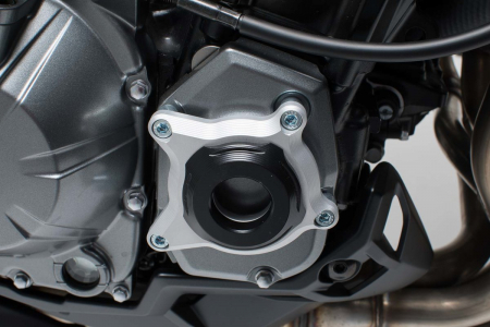 Protectie carter negru/argintiu Kawasaki Z900 (16-). [1]