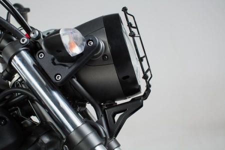 Protectie far Grila. negru Yamaha XSR 700 (16-). [1]