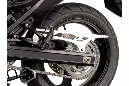 Protectie lant Aluminium. Argintiu. Gravat Suzuki V-Strom 1000 2014- [0]