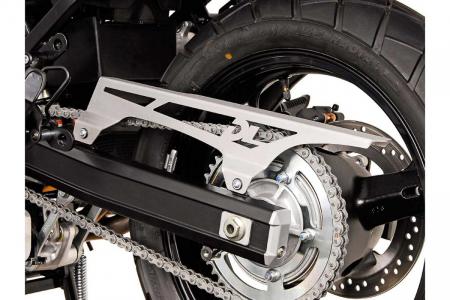 Protectie lant Aluminium. Argintiu. Gravat Suzuki V-Strom 1000 2014- [2]