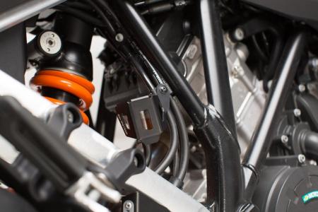 Protectie rezervor lichid frana Negru KTM 1050/1190/1290 Adventure. [2]