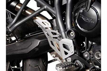 Protectie teava esapament DREAPTA Argintiu Triumph Tiger 800 models (10-). [0]