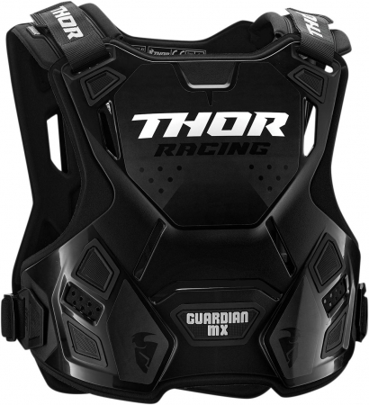 Protectie THOR Copii IAN MX ROOST DEFLECTOR BLACK SM/MD