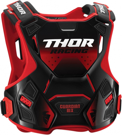 Protectie THOR Copii IAN MX ROOST DEFLECTOR RED/BLACK 2XS/XS