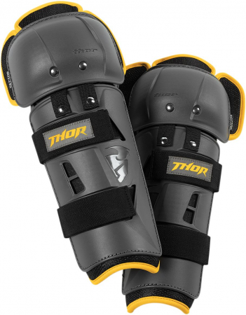 Protectie THOR Copii SECTOR GP CHARCOAL/YELLOW ONE SIZE