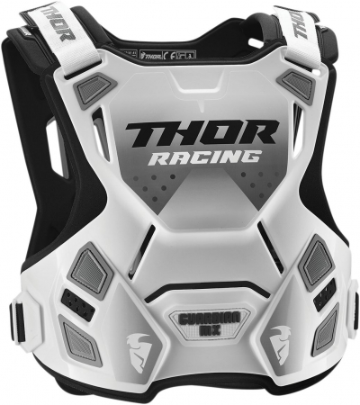 Protectie THOR IAN MX ROOST DEFLECTOR WHITE/BLACK MD/LG